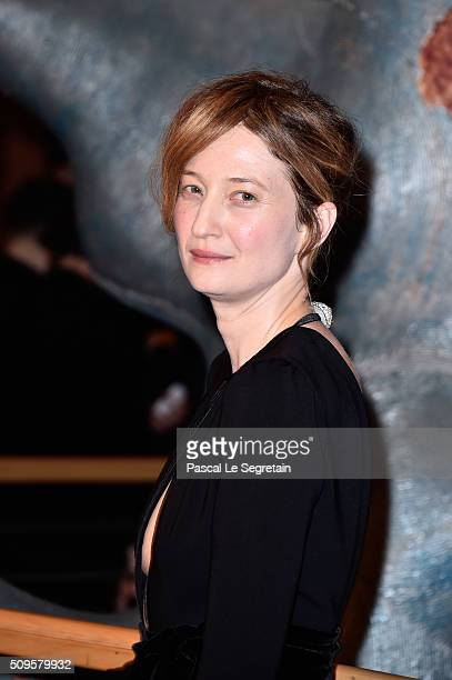 Alba Rohrwacher attends the 'Hail Caesar' premiere during the 66th Berlinale International Film Festival Berlin at Berlinale Palace on February 11...