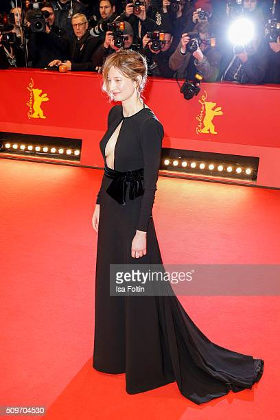 Alba Rohrwacher attends the 'Hail Caesar' Premiere during the 66th Berlinale International Film Festival on February 11 2016 in Berlin Germany