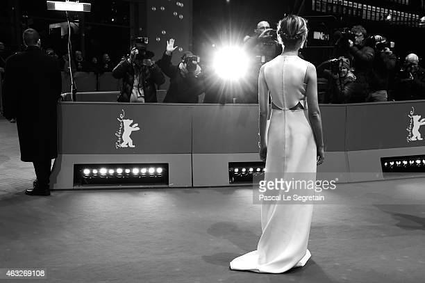 Alba Rohrwacher attends the 'Sworn Virgin' premiere during the 65th Berlinale International Film Festival at Berlinale Palace on February 12 2015 in...