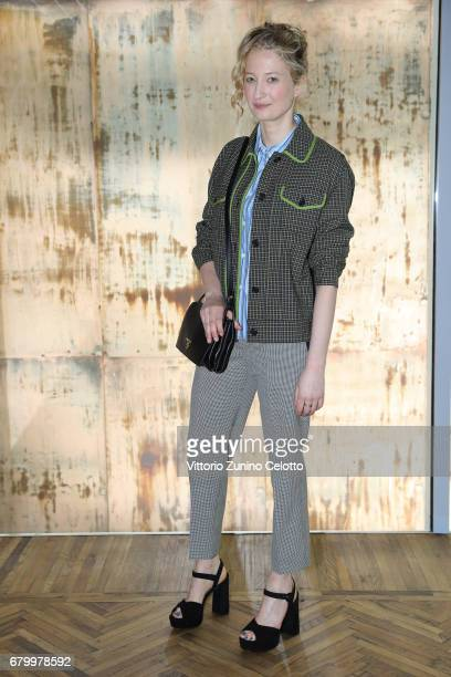 Alba Rohrwacher while attending the Prada Resort 2018 Womenswear Show in Osservatorio on May 7 2017 in Milan Italy