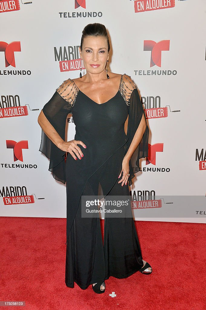 Alba Roversi attends Telemundos 'Marido en Alquiler' Presentation on July 10, 2013 in Miami, Florida.
