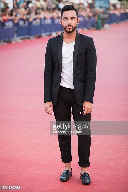 Alban Bartoli arrives at the 'Imperium' Premiere during the 42nd Deauville American Film Festival on September 9 2016 in Deauville France