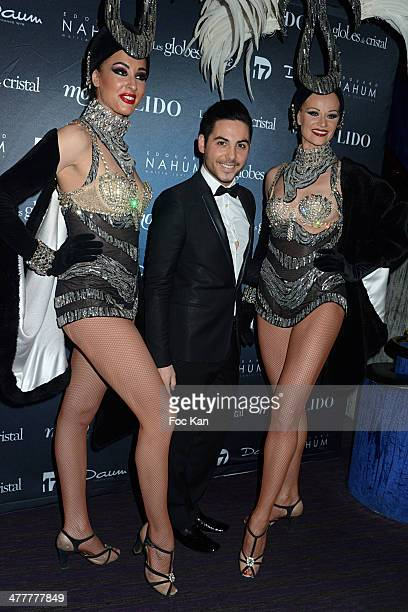 Alban Bartoli attends Les Globes de Cristal 2014 Awards Ceremony at Le Lido on March 10 2014 in Paris France