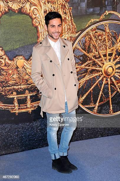 Alban Bartoli attends the Cinderella Paris Premiere at Le Grand Rex on March 22 2015 in Paris France