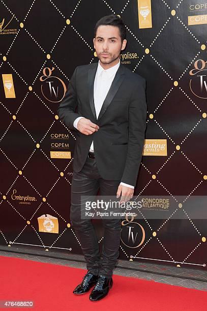 Alban Bartoli attends the 'Gold Prix De La TNT' Award Ceremony At Bobino Theatre in Paris on June 9 2015 in Paris France