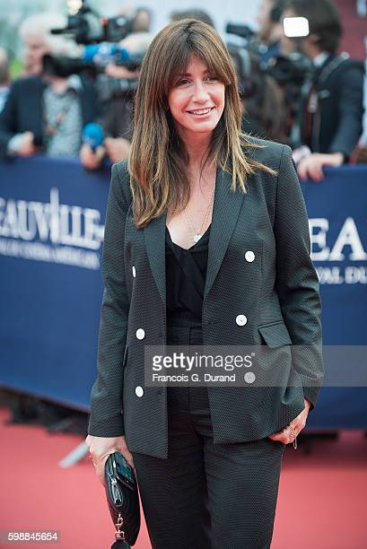 Albane Cleret arrives at the opening ceremony of the 42nd Deauville American Film Festival on September 2 2016 in Deauville France