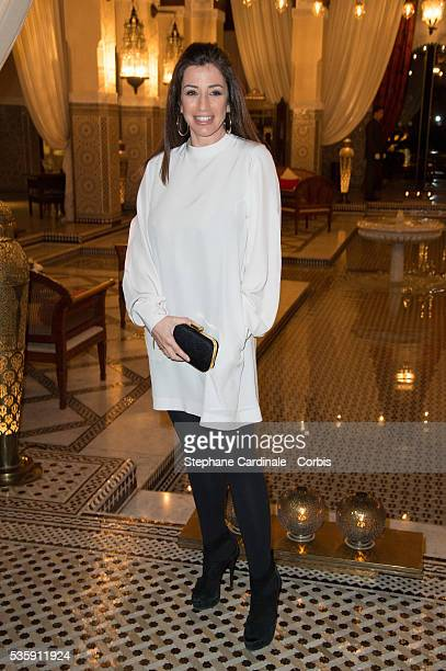Albane Cleret attends Dior Dinner at Hotel Royal Mansour during the 13th Marrakech International Film Festival in Marrakech