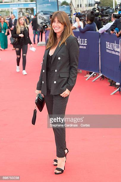 Albane Cleret attends the Opening Ceremony of the 42nd Deauville American Film Festival on September 2 2016 in Deauville France