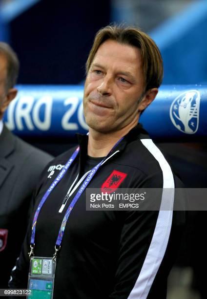 Albania assistant manager Paolo Tramezzani