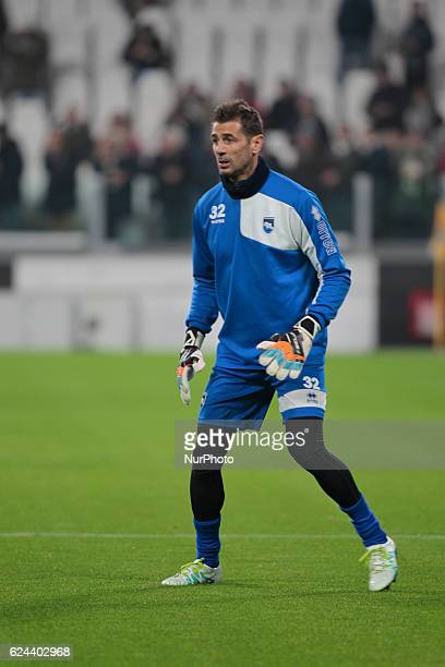 Albano Bizzarri during Serie A match between Juventus v Pescara in Turin on november 19 2016