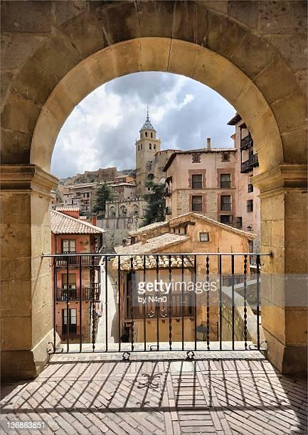 Albarracin downtown