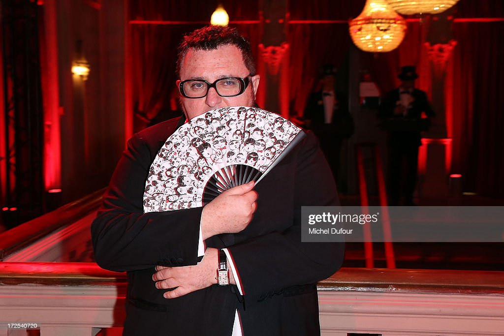 Alber Elbaz attends the 'Lancome Show by Alber Elbaz' at Le Trianon on July 2, 2013 in Paris, France.