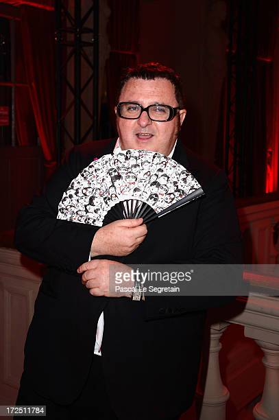 Alber Elbaz attends the 'Lancome Show By Alber Elbaz' Party at Le Trianon on July 2 2013 in Paris France