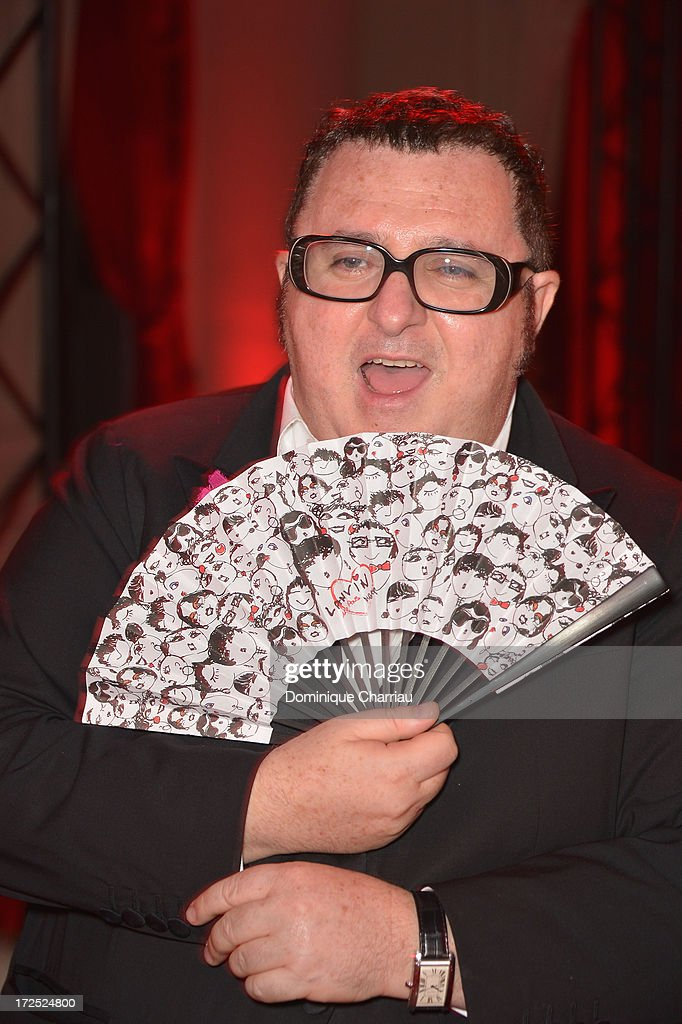 <a gi-track='captionPersonalityLinkClicked' href=/galleries/search?phrase=Alber+Elbaz&family=editorial&specificpeople=783481 ng-click='$event.stopPropagation()'>Alber Elbaz</a> attends the 'Lancome Show By <a gi-track='captionPersonalityLinkClicked' href=/galleries/search?phrase=Alber+Elbaz&family=editorial&specificpeople=783481 ng-click='$event.stopPropagation()'>Alber Elbaz</a>' Party at Le Trianon on July 2, 2013 in Paris, France.