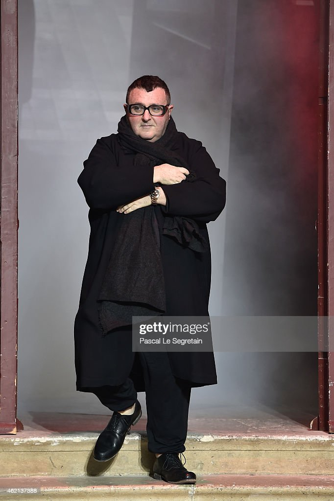 <a gi-track='captionPersonalityLinkClicked' href=/galleries/search?phrase=Alber+Elbaz&family=editorial&specificpeople=783481 ng-click='$event.stopPropagation()'>Alber Elbaz</a> attends the Lanvin Menswear Fall/Winter 2015-2016 show as part of Paris Fashion Week on January 25, 2015 in Paris, France.