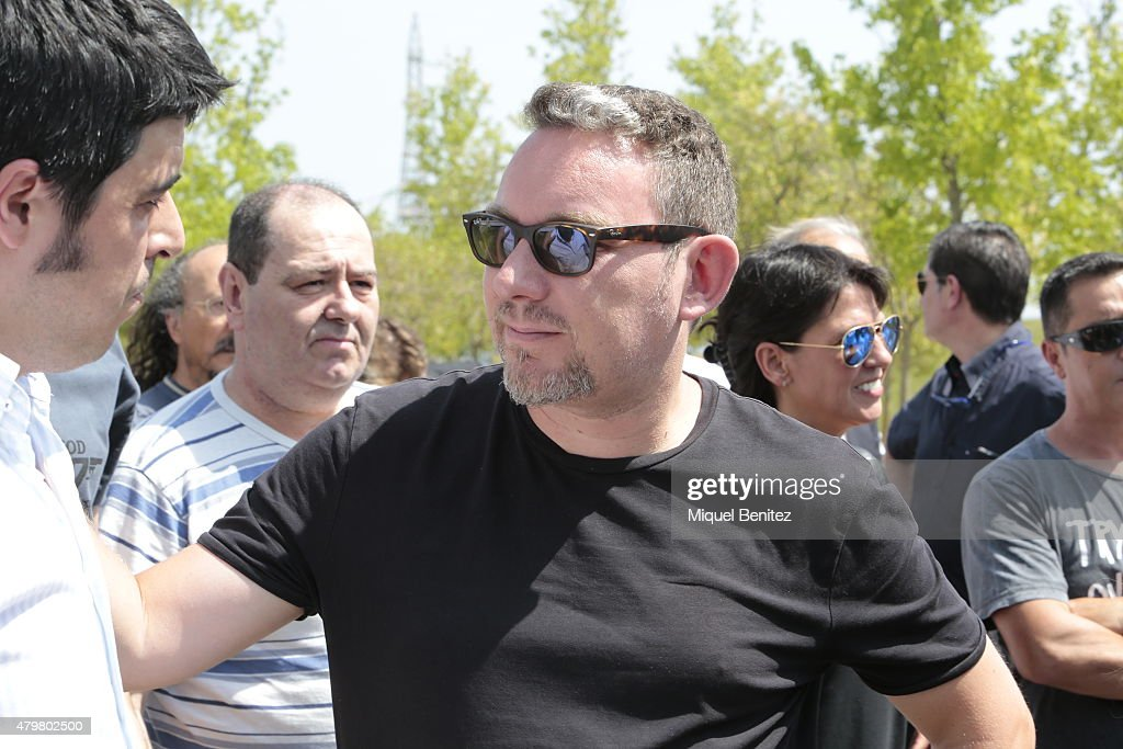 albert adria attends the funeral of juli soler lobo at funeral chapel of terrassa tarrasa on