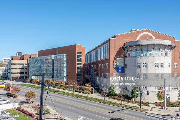 Albert B Chandler Hospital complex in the University of Kentucky Medical Center in Lexington Kentucky USA