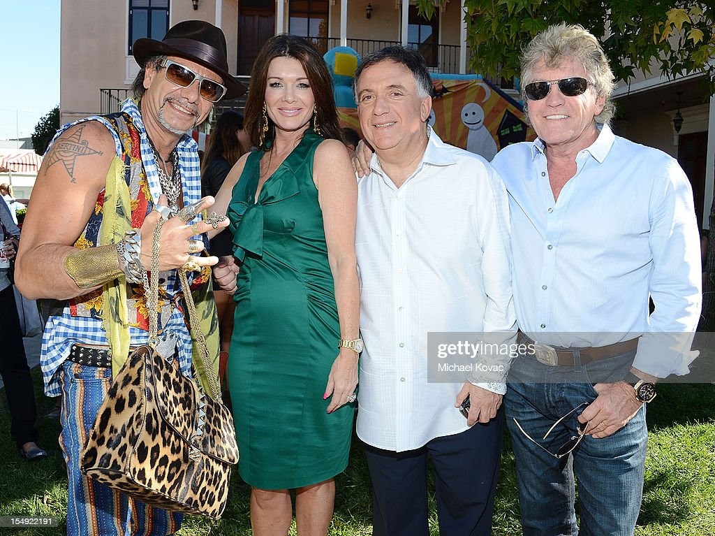 Albert Bertini, <a gi-track='captionPersonalityLinkClicked' href=/galleries/search?phrase=Lisa+Vanderpump&family=editorial&specificpeople=6834933 ng-click='$event.stopPropagation()'>Lisa Vanderpump</a>, <a gi-track='captionPersonalityLinkClicked' href=/galleries/search?phrase=Robert+Earl&family=editorial&specificpeople=750956 ng-click='$event.stopPropagation()'>Robert Earl</a>, and Kenneth Todd attend The T.J. Martell Foundation 4th Annual Family Day LA on October 28, 2012 in Los Angeles, California.