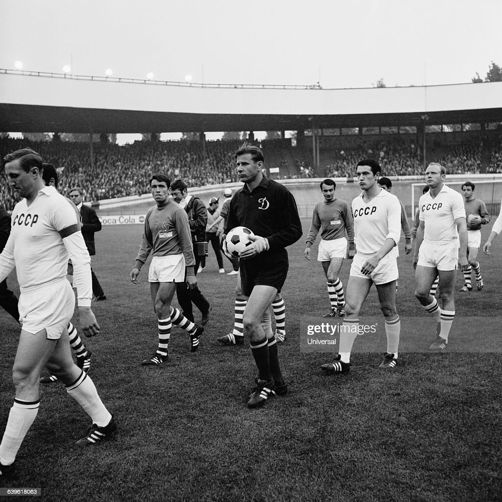 Soccer France vs USSR 1967