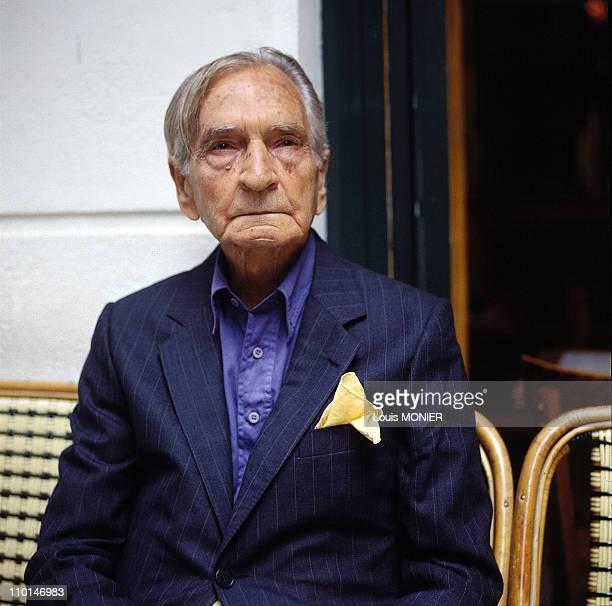 Albert Cossery writer in France in June 1994
