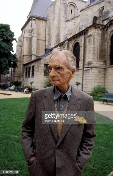 Albert Cossery writer in France in June 1995