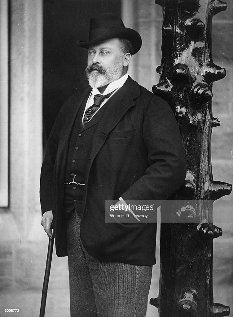 Albert Edward Prince of Wales (1841 - 1910), eldest son of Queen Victoria and Prince Albert and later King <a gi-track='captionPersonalityLinkClicked' href=/galleries/search?phrase=Edward+VII&family=editorial&specificpeople=107207 ng-click='$event.stopPropagation()'>Edward VII</a>.