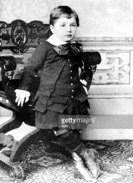 Albert Einstein at 3 1882