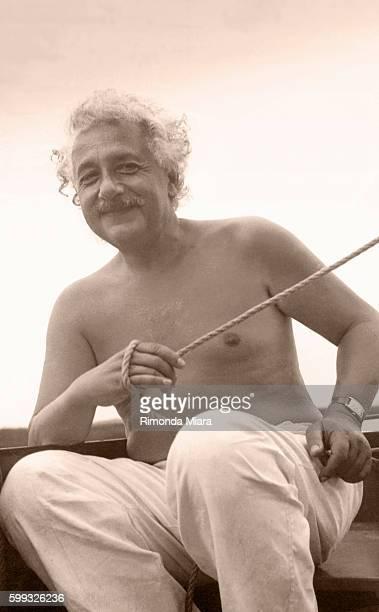 Albert Einstein at Saranac Lake