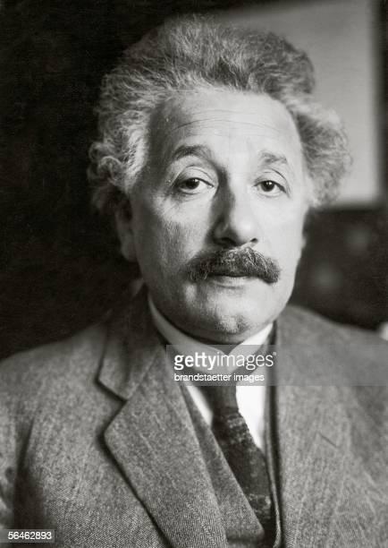Albert Einstein German physicist Photography around 1925 [Albert Einstein deutscher Physiker Photographie um 1925]