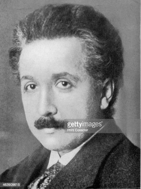 Albert Einstein GermanSwiss mathematician and theoretical physicist c1920 Einstein's main contribution to science was the theory of relativity...