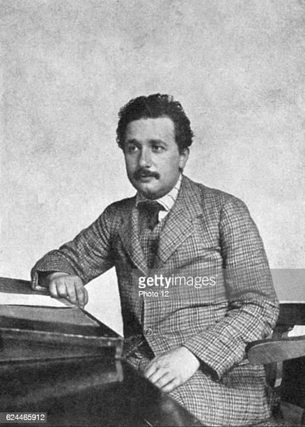 Albert Einstein GermanSwiss mathematician Relativity Einstein in 1905