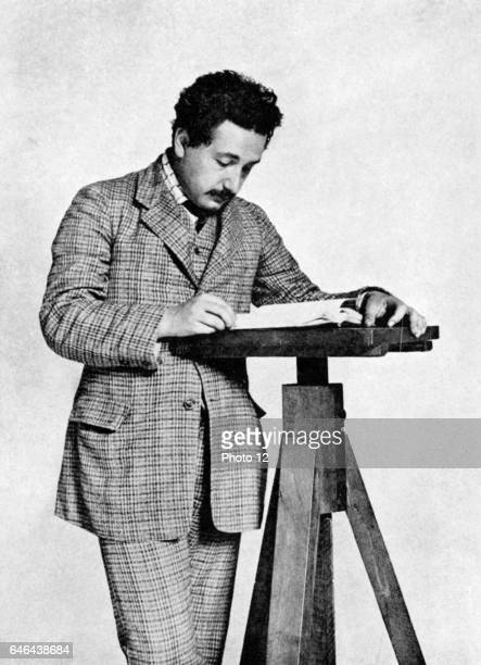 Albert Einstein GermanSwiss mathematician Relativity Photo12/UIG via Getty Images