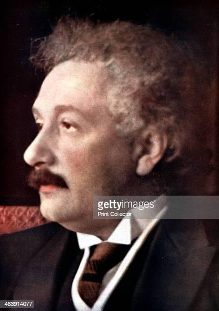 Albert Einstein GermanSwissAmerican mathematician and physicist c1925 Einstein's main contribution to science was the theory of relativity regarded...