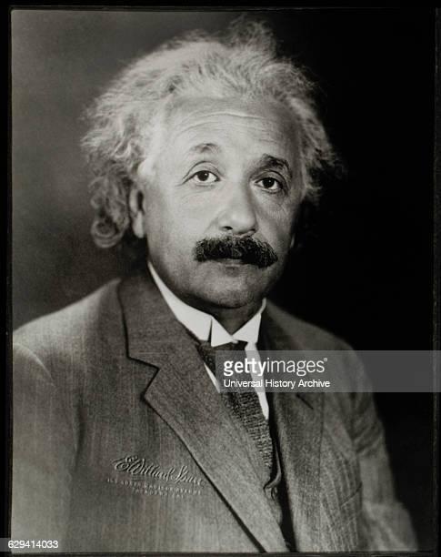 Albert Einstein Physicist Portrait circa 1940's