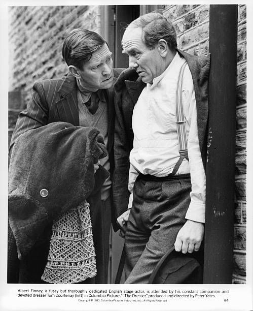 Albert Finney And Tom Courtenay In The Dresser