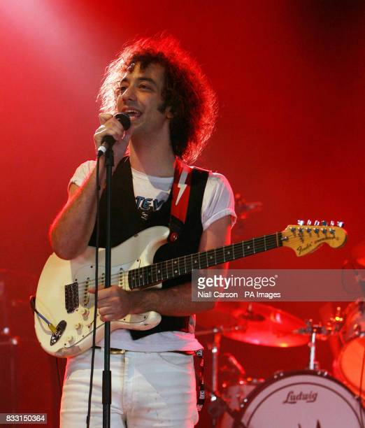 Albert Hammond Jnr plays the Pets Sounds Stage at the Oxegen Music festival at Punchestown racecourse Co Kildare