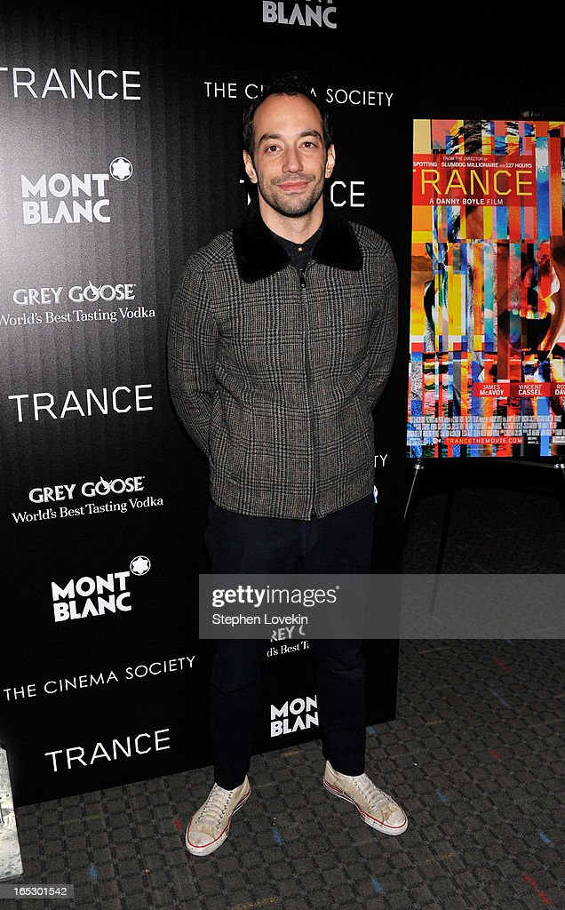 Albert Hammond, Jr attends the premiere of Fox Searchlight Pictures' 'Trance' hosted by The Cinema Society & Montblanc at SVA Theater on April 2, 2013 in New York City.