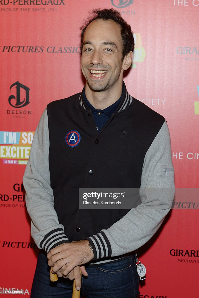 Albert Hammond, Jr. atttends Girard-Perregaux And The Cinema Society With DeLeon Host a Screening Of Sony Pictures Classics' 'I'm So Excited' at Sunshine Landmark on June 6, 2013 in New York City.