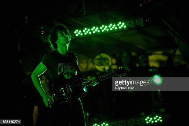 Albert Hammond Jr from The Strokes performs at Lollapalooza Brazil day 2 at Autodromo de Interlagos on March 26 2017 in Sao Paulo Brazil