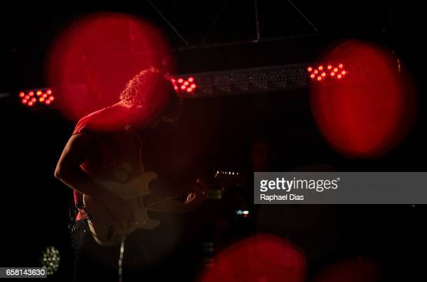 Albert Hammond Jr from The Strokes performs at Lollapalooza Brazil day 2 at Autodromo de Interlagos on March 25 2017 in Sao Paulo Brazil