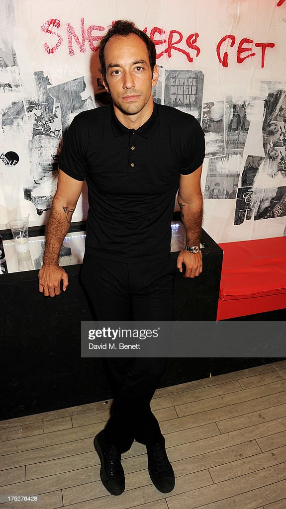Albert Hammond Jr of The Strokes attends Converse At The Circle, celebrating the Chuck Taylor All Star 'Rock Craftsmanship' collection, on August 1, 2013 in London, United Kingdom.