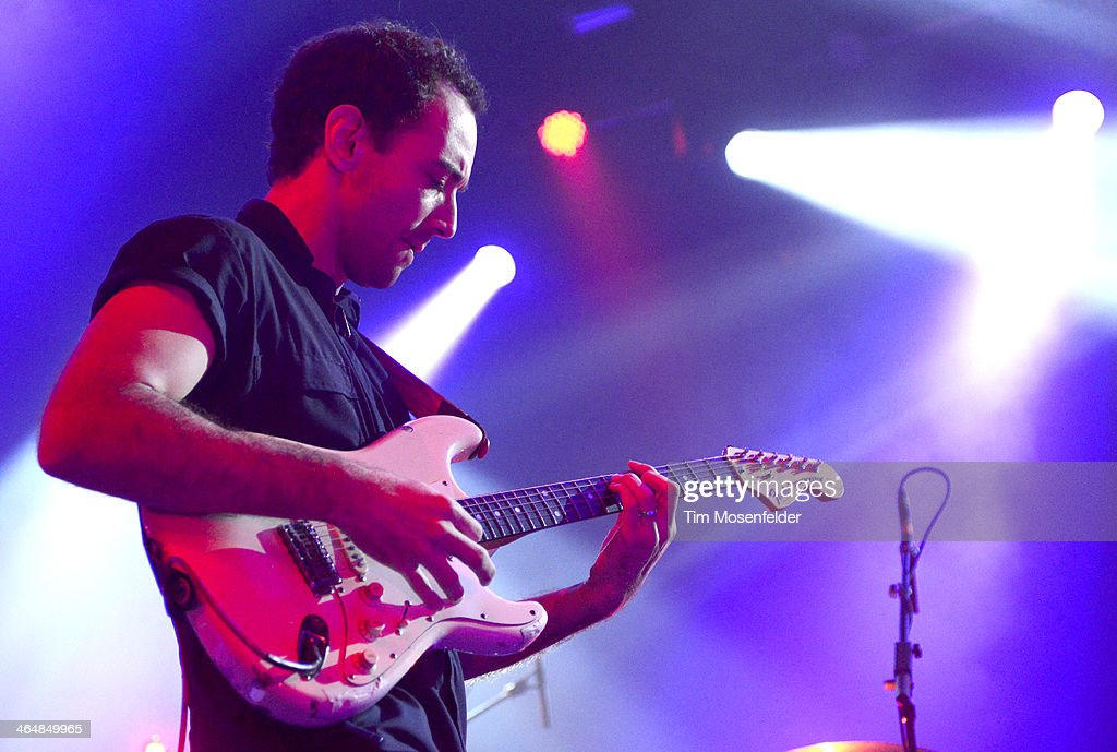 Albert Hammond Jr performs at The Fox Theatre on January 23 2014 in Oakland California