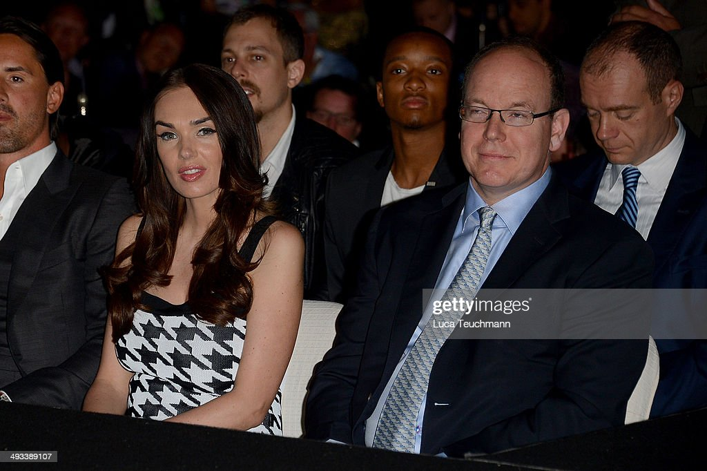 Albert II and Prince of Monaco; <a gi-track='captionPersonalityLinkClicked' href=/galleries/search?phrase=Tamara+Ecclestone&family=editorial&specificpeople=575176 ng-click='$event.stopPropagation()'>Tamara Ecclestone</a> attend the Amber Lounge 2014 Gala at Le Meridien Beach Plaza Hotel on May 23, 2014 in Monte-Carlo, Monaco.