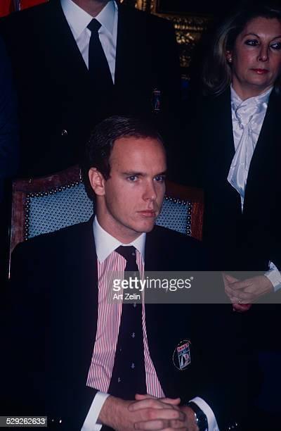 Albert II Prince of Monaco circa 1970 New York