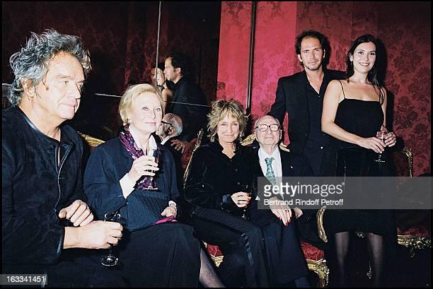 Albert Koskis 'Michele Morgan' 'Christopher Thompson' 'Geraldine Pailhas' 'Gerard Oury' film screening of 'La Grande Vadrouille' at the Garnier opera