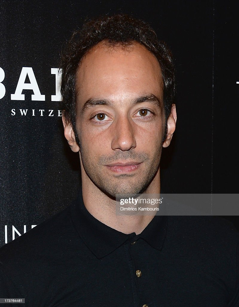 Albert Louis Hammond, Jr. of The Strokes attends The Cinema Society & Bally screening of Summit Entertainment's 'Red 2' at the Museum of Modern Art on July 16, 2013 in New York City.