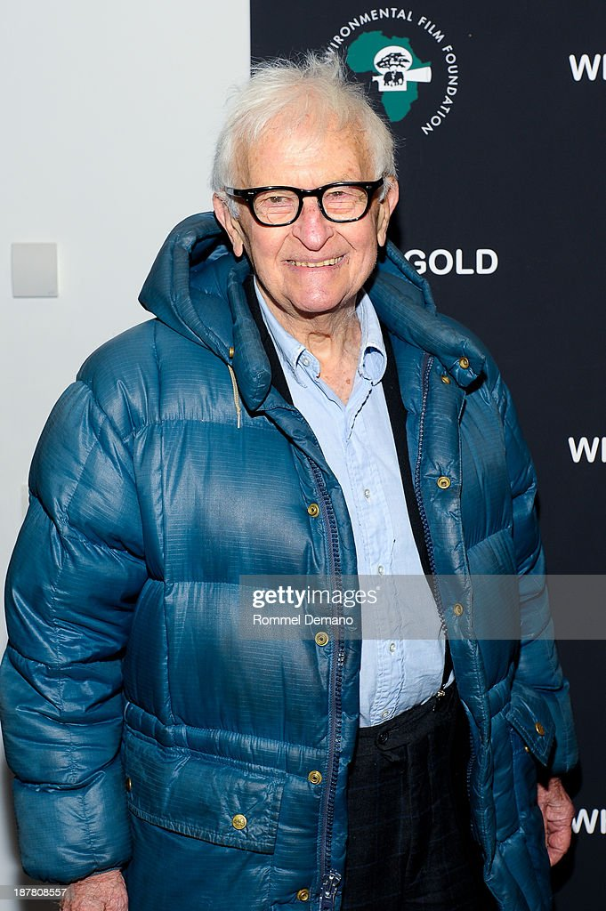 <a gi-track='captionPersonalityLinkClicked' href=/galleries/search?phrase=Albert+Maysles&family=editorial&specificpeople=683587 ng-click='$event.stopPropagation()'>Albert Maysles</a> attends a special screening of 'White Gold' at Museum of Modern Art on November 12, 2013 in New York City.