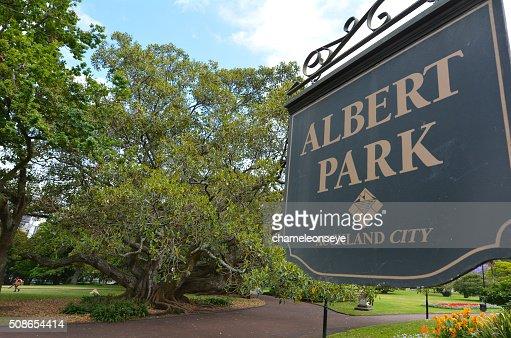 Albert park - Auckland New Zealand : Stock Photo