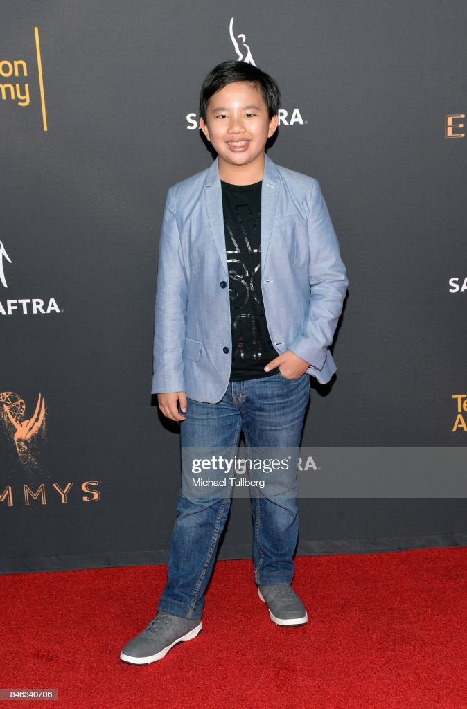 Albert Tsai attends the Television Academy and SAG-AFTRA's 5th annual Dynamic and Diverse Celebration at Saban Media Center on September 12, 2017 in North Hollywood, California.