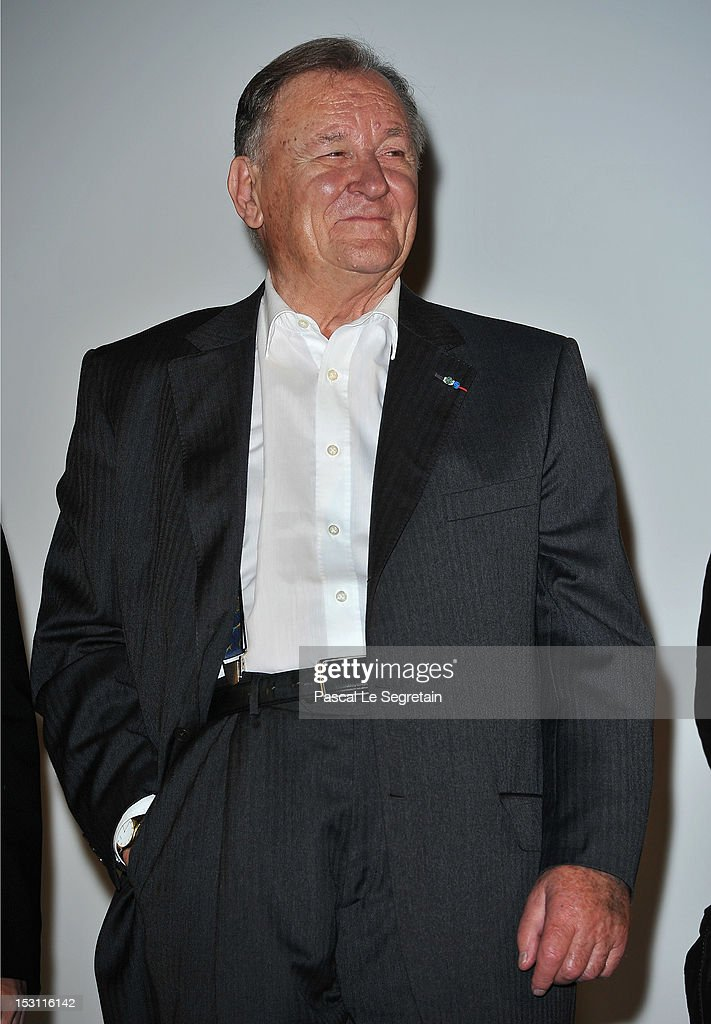 Albert Uderzo attends the 'Asterix & Obelix: Au Service De Sa Majeste' premiere at Le Grand Rex on September 30, 2012 in Paris, France.